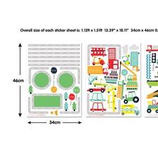 WT44869 Transport Wall Art Kit by Brewster
