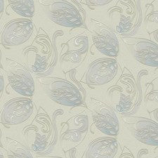 Light Taupe/Pale Blue/Light Blue Jacobean Wallcovering by York
