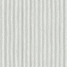 Metallic Silver/Cream Stripes Wallcovering by York